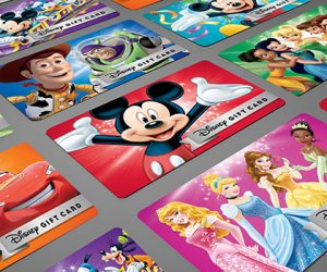 cheap disney gift cards