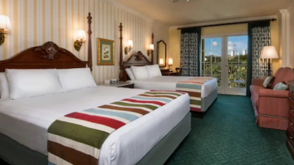 Boardwalk Hotel Disney Club Level Deluxe Room