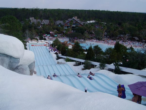 blizzard beach body slides