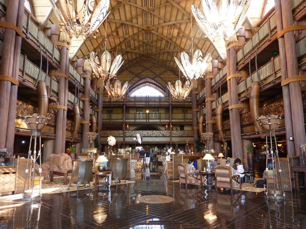 animal kingdom lodge lobby