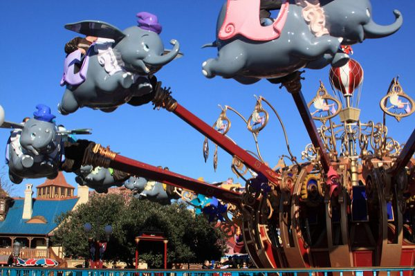 magic kingdom rides for kids