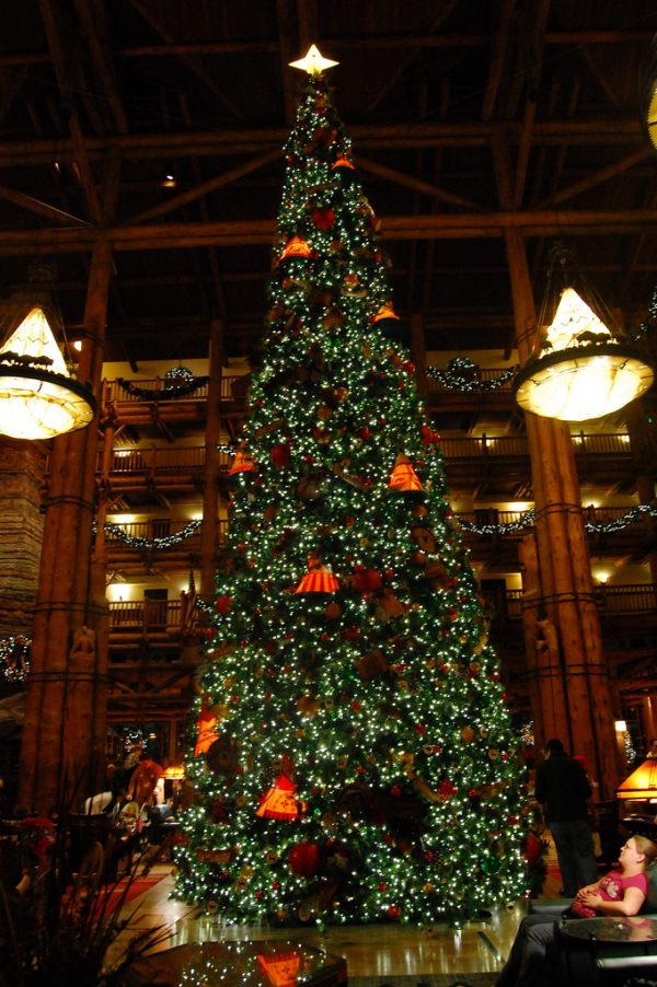 christmas at wilderness lodge