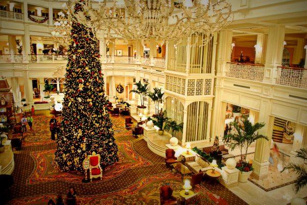 Christmas at Grand Floridian