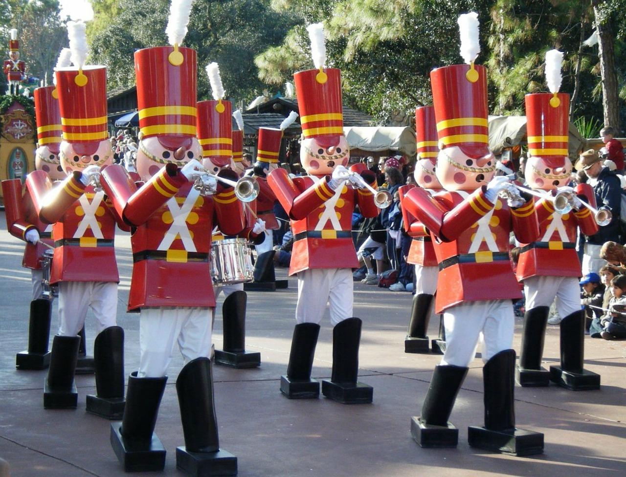 Christmas Parade at Disney World