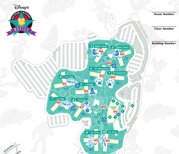 All Star Movies Map
