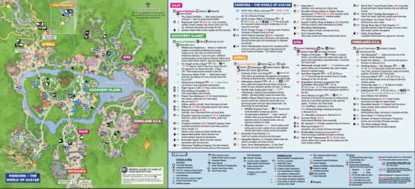 image about Magic Kingdom Printable Map identified as Disney International Map [Maps of the Lodges, Topic Parks, Drinking water