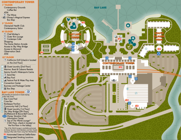 Disney World Map [Maps of the Resorts, Theme Parks, Water ...