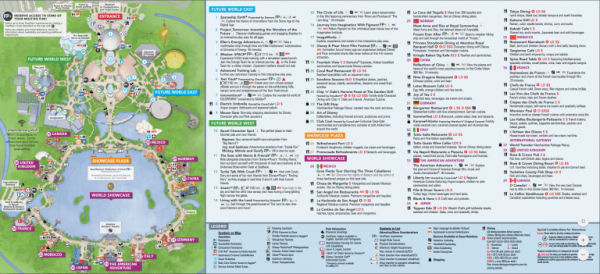 photograph about Printable Magic Kingdom Map named Disney International Map [Maps of the Inns, Topic Parks, Drinking water