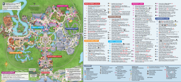 Disney World Hotel Map on