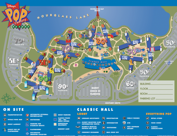picture regarding Printable Disneyland Maps identified as Disney Environment Map [Maps of the Lodges, Topic Parks, Drinking water