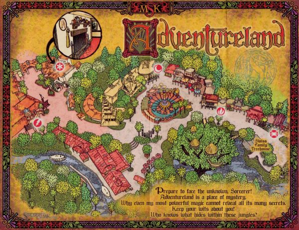 SOTMK Adventureland Map