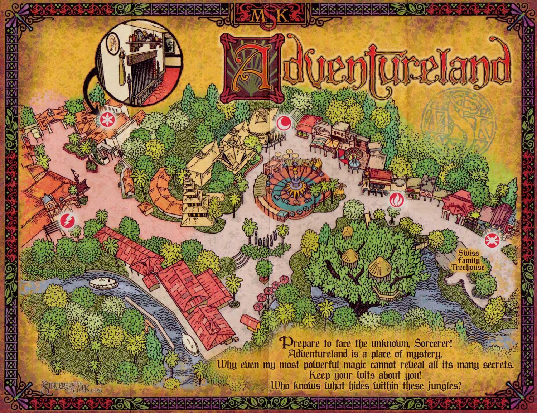 SOTMK Adventureland Map