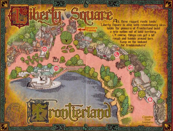 SOTMK Frontier Land Map