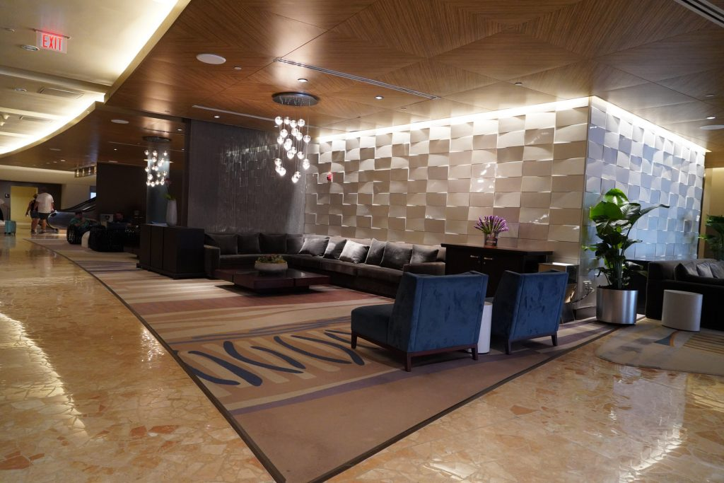 Contemporary Resort lobby