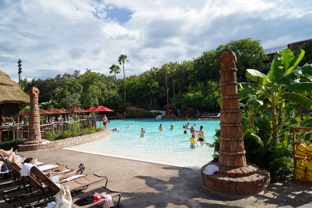 Animal Kingdom Lodge pool