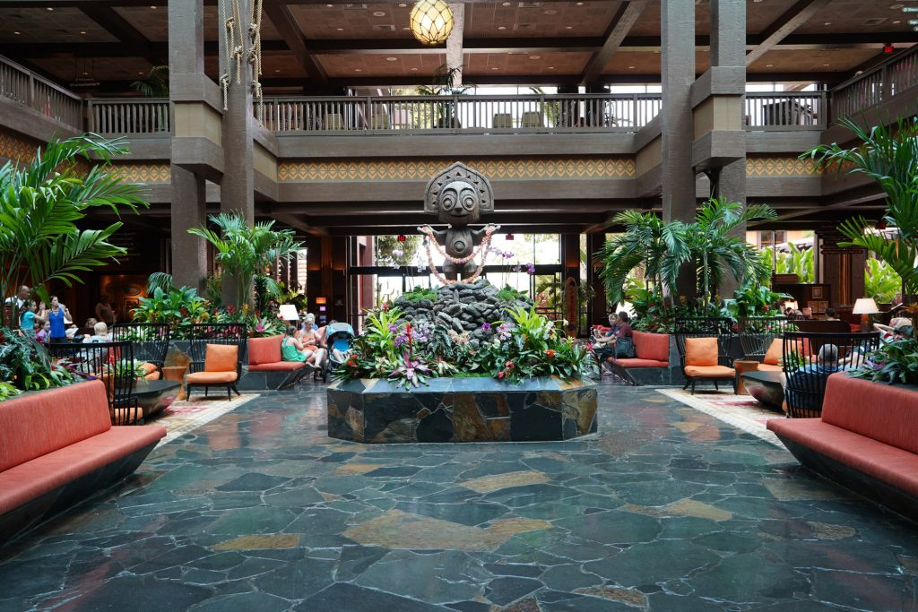 Polynesian Village Resort lobby