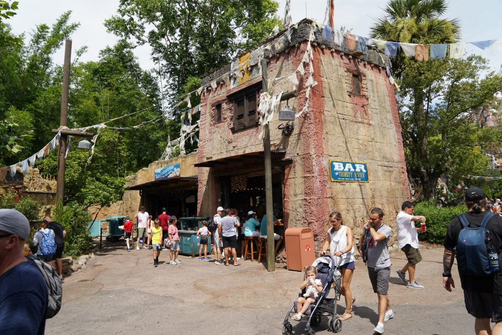 quick service animal kingdom restaurants