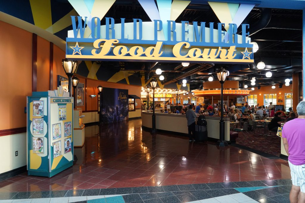 food court at all-star movies resort