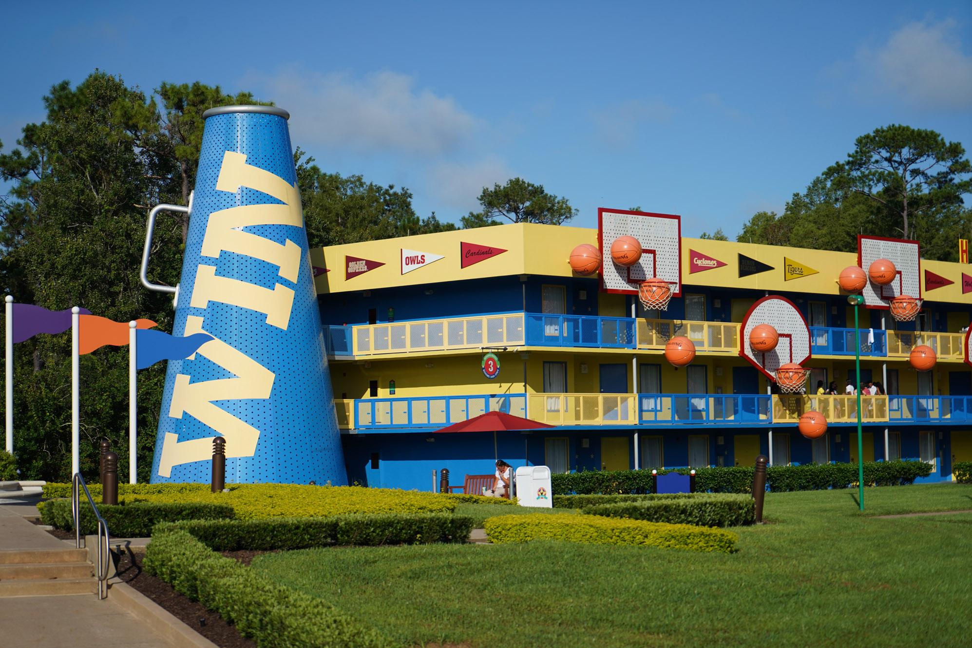 all-star sports hotel at disney world