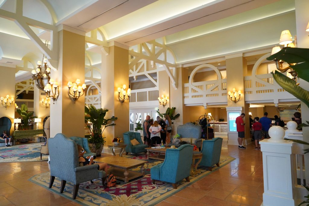 Beach Club Resort lobby