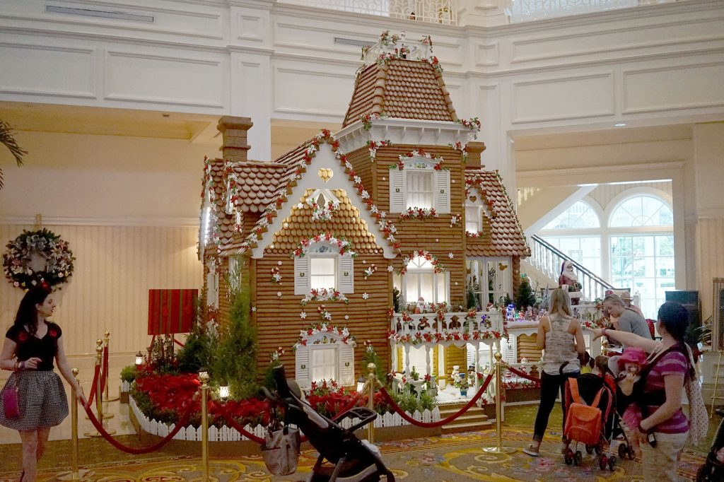 Christmas at Grand Floridian Resort