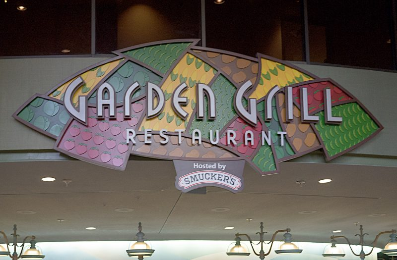 character dining at Garden Grill