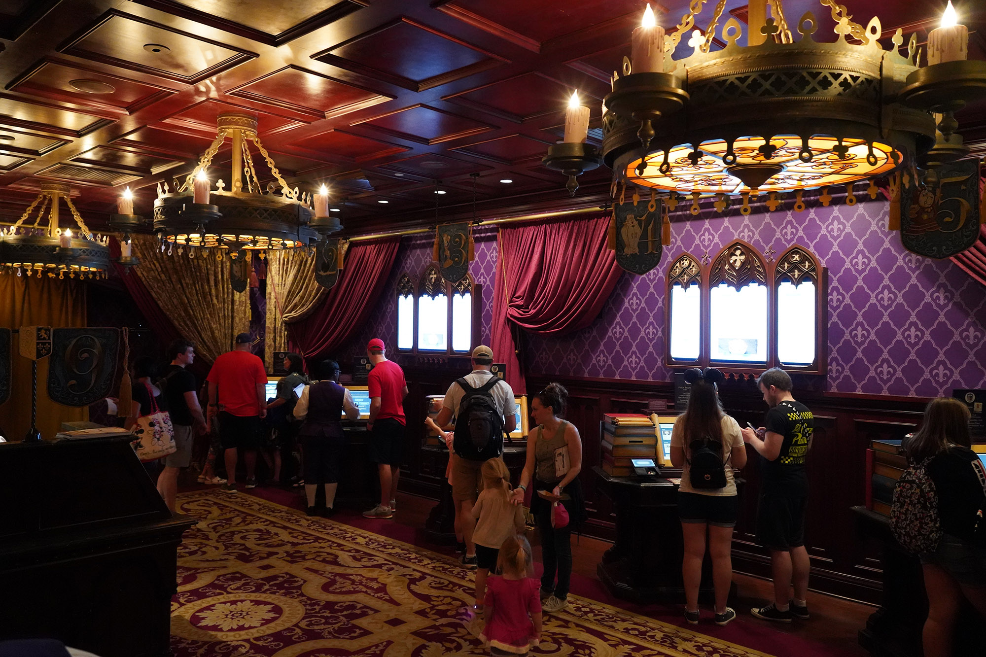 reservations for Be Our Guest