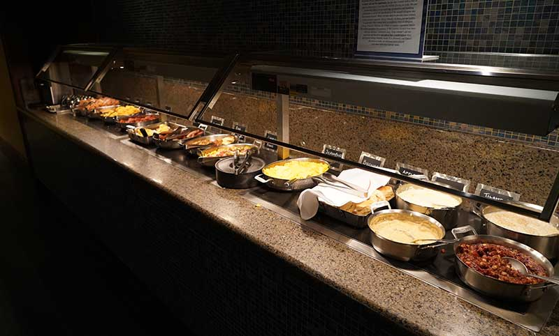 Breakfast Buffet at The Wave Restaurant