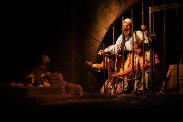 Pirates of the Caribbean ride at Magic Kingdom