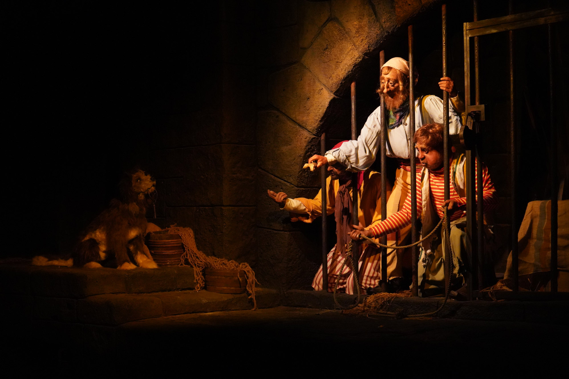 Pirates of the Caribbean ride at Disney World