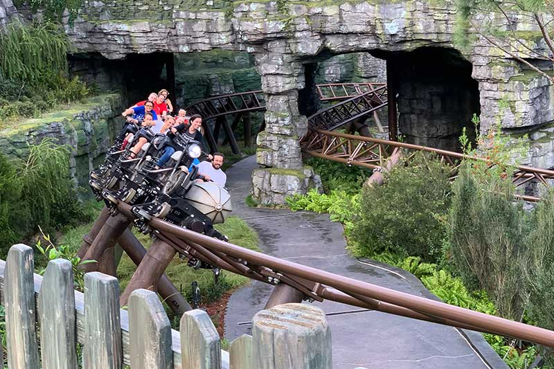 Hagrids Ride Universal Orlando