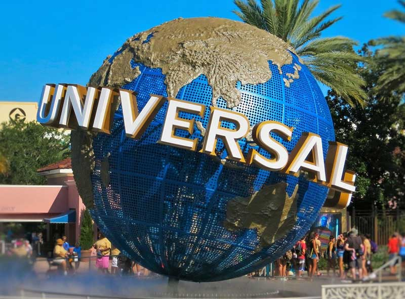 Universal Orlando Glob Logo