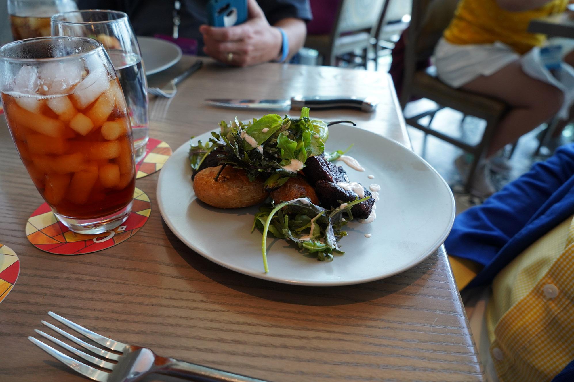 food at sip, savor and stay saturdays