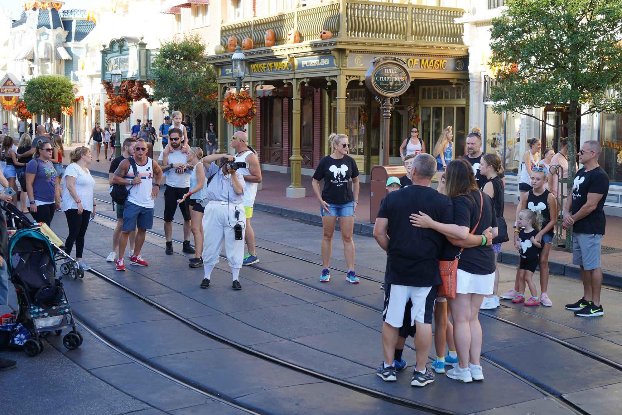 crowds in Magic Kingdom