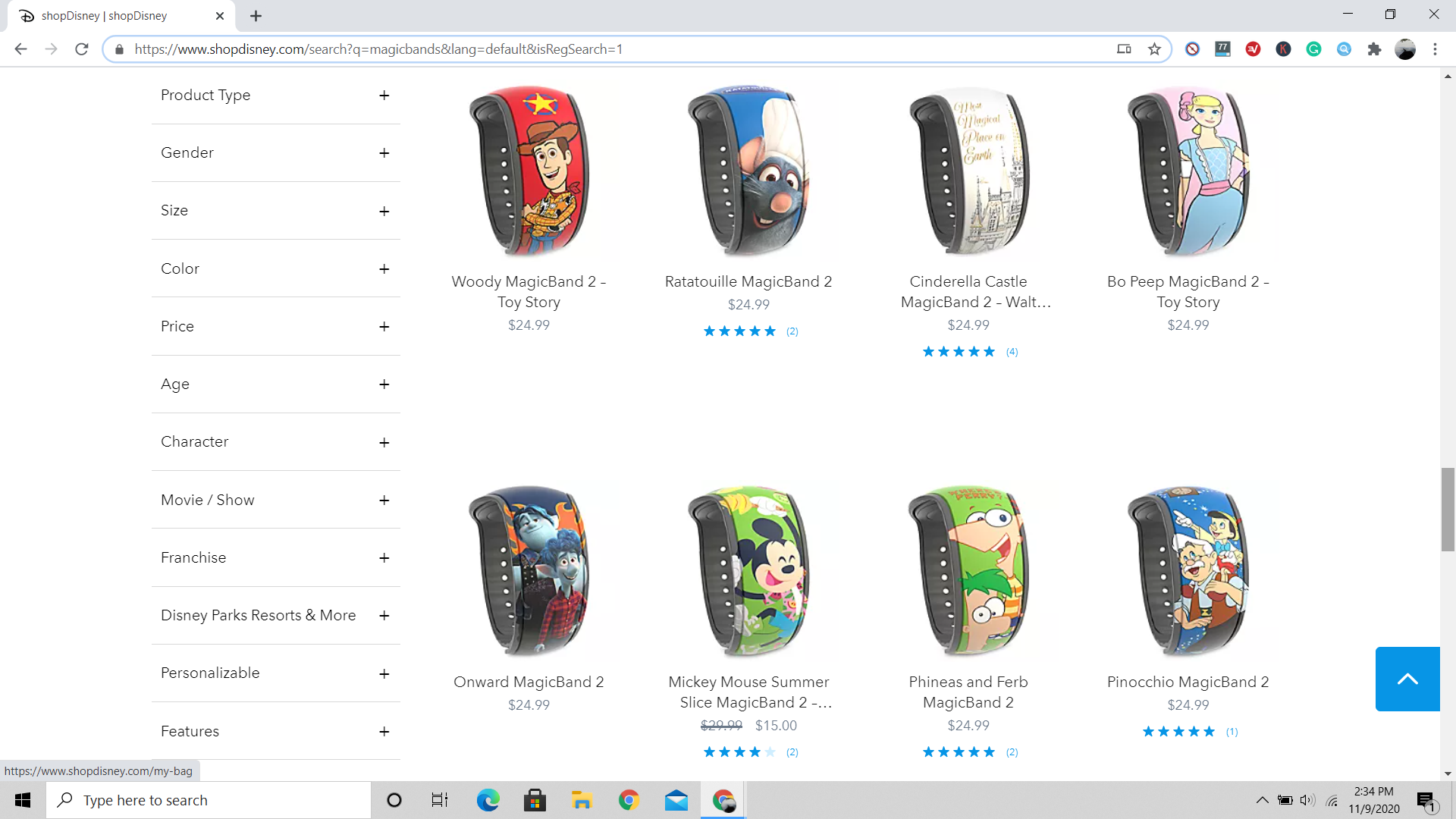 buy magicbands for disney world